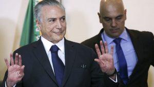 Em meio à busca por nome de ministro, Temer recebe Alexandre de Moraes