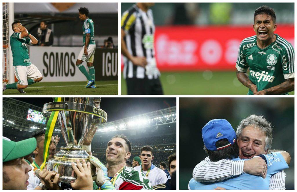 4054959e661 Não faltou emoção para o Palmeiras em 2015  foram duas finais e quatro  decisões por pênaltis