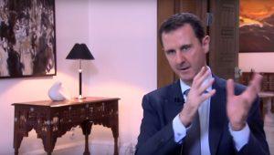 Reprodução/ Youtube/Syrian Presidency