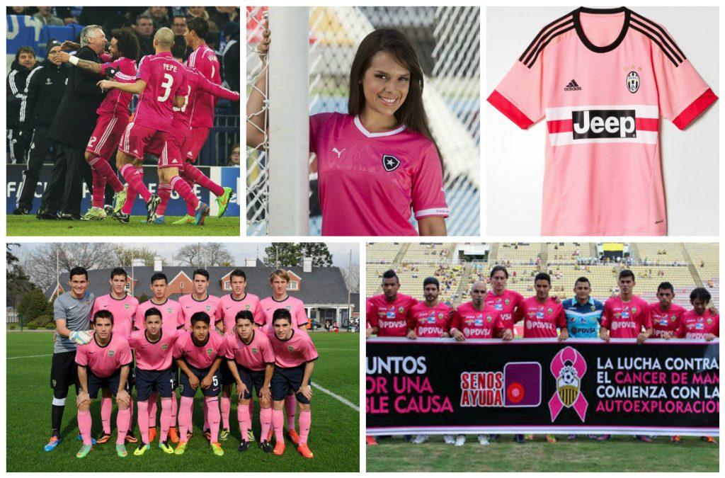 d74ec1535d52a Outubro (e futebol) Rosa  as polêmicas dos times que usaram o rosa ...