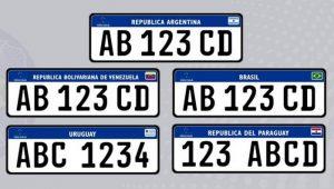 Adoção das placas do Mercosul é suspensa pelo governo