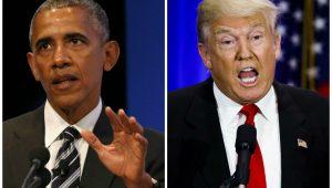Obama e Trump trocam farpas ao falar de Mandela