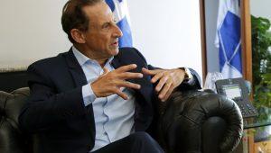 """Skaf desconversa sobre eventual apoio de Temer em candidatura: """"não é o apoiador que vai governar"""""""