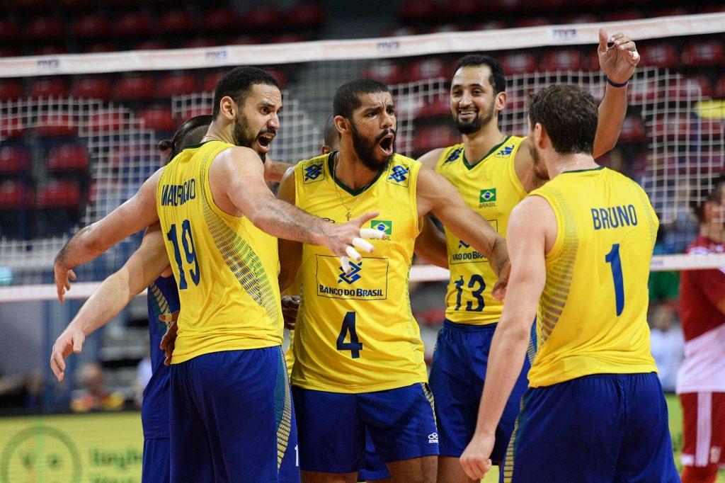 Brasil festeja chance de pegar Itália na Liga Mundial e exalta força ... d9aedaa61c094