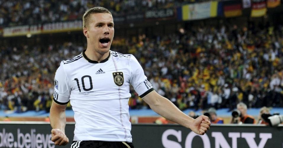 4b42164d6b291 Alemanha chama Podolski para adeus e dá 1ª chance a jovem atacante do RB  Leipzig
