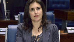 Tebet não descarta candidatura avulsa caso Renan dispute Presidência do Senado pelo MDB