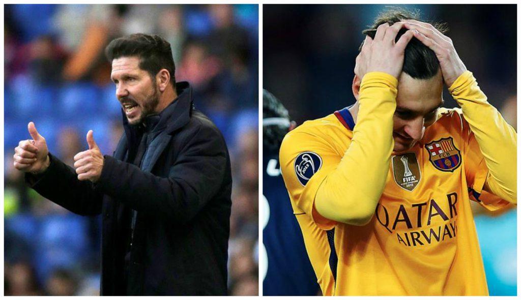 A defesa forte do Atlético de Simeone será desafiada por Messi 65af2cb0371f6
