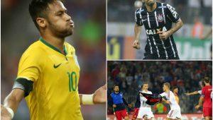 Montagem: EFE/ CBF/ Agência Corinthians