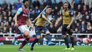 Arsenal e West Ham empatam em movimentado clássico de seis gols 8200e2b21a3
