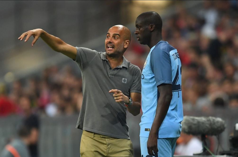 Guardiola confirma saída de Yaya Touré do City