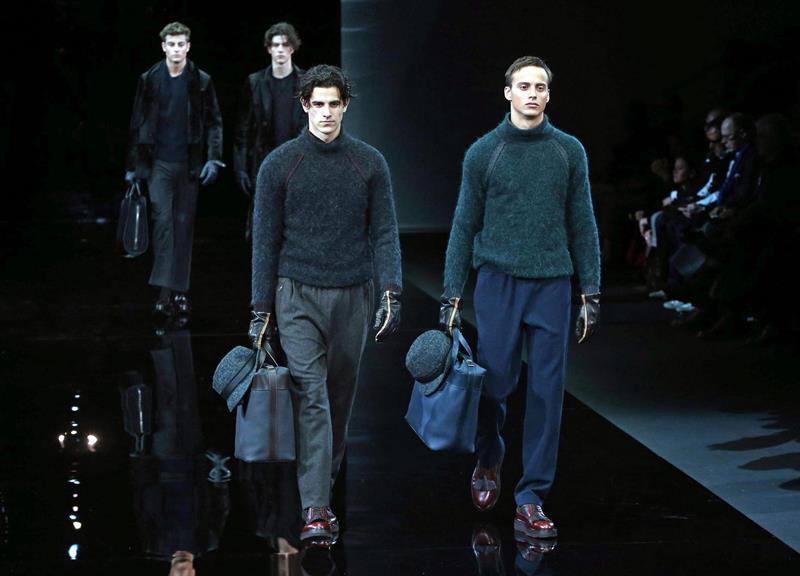 Armani, DSquared e Cavalli fecham semana de moda masculina de Milão ... 86e93d4f33