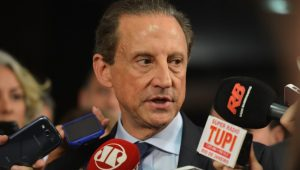 Se MDB apoiar Alckmin, lógica é que PSDB apoie candidatura emedebista em SP, diz Skaf