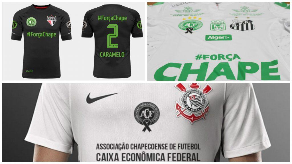 Times brasileiros vão homenagear à Chapecoense na última rodada do  Brasileirão 4b89ccceeb18a