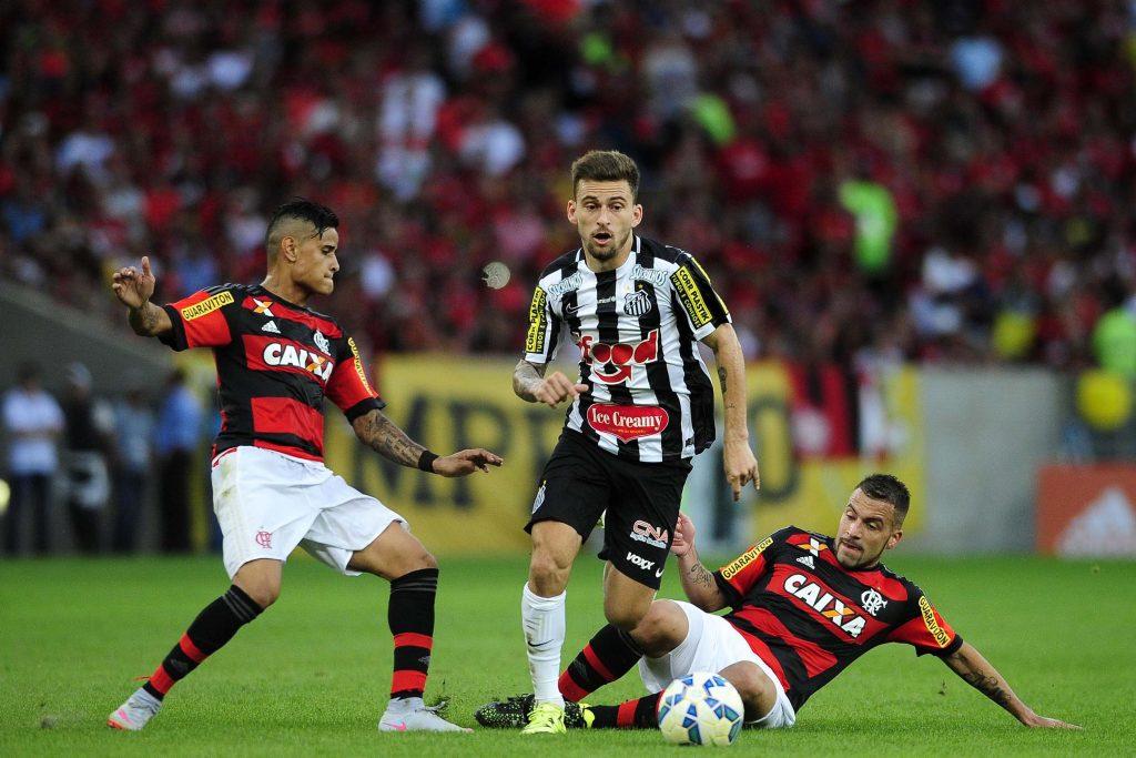 6e098f5ec394f ... Confira imagens de Flamengo x Santos no Maracanã