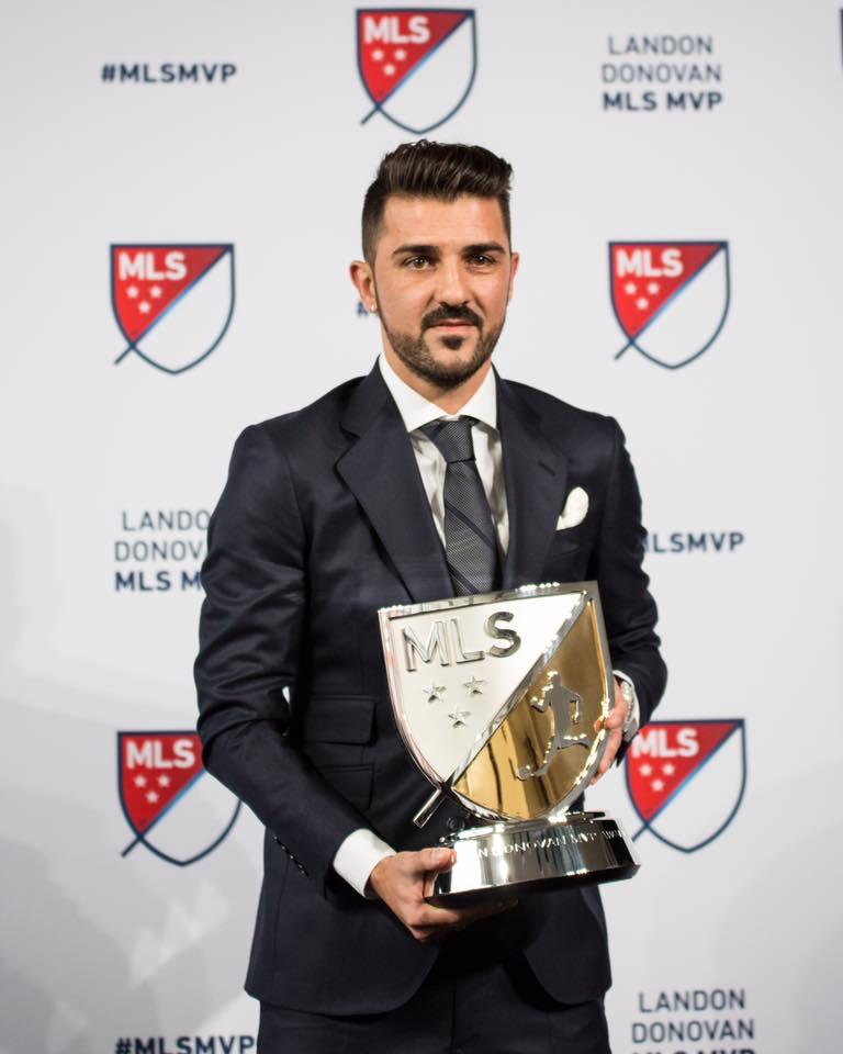 David Villa é eleito melhor jogador da temporada na MLS  5613cd67829d0