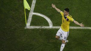 Inspirada em goleada aplicada em 2014, Colômbia reencontra Japão na Copa