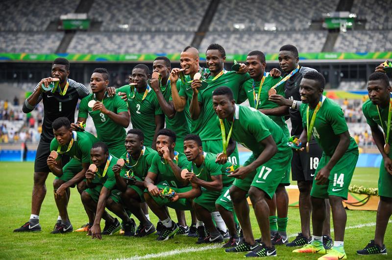 Nigéria conquista a sua terceira medalha olímpica no futebol masculino 2a439db8ec3bb