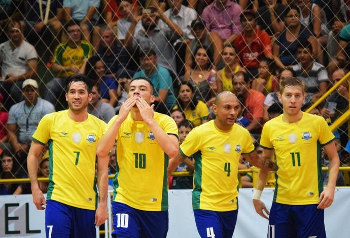 Seleção de futsal derrota Venezuela em estreia nas Eliminatórias da ... c03107875ed1f