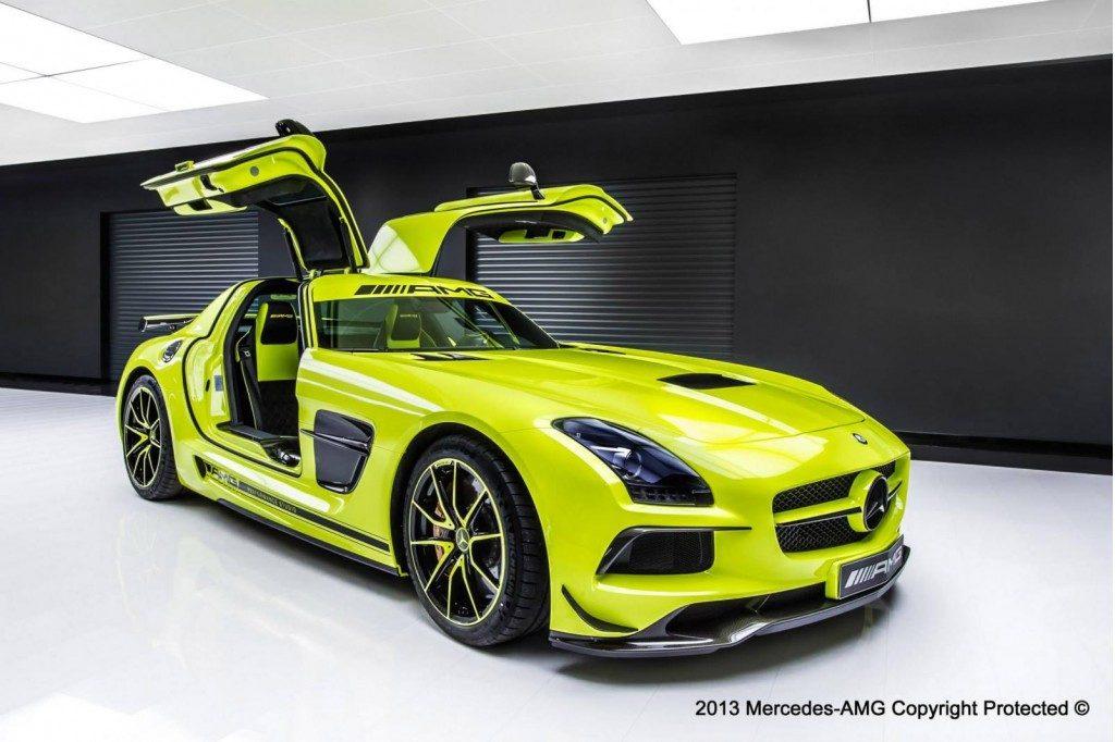 Mercedes Benz SLS AMG Black Series Personalizado