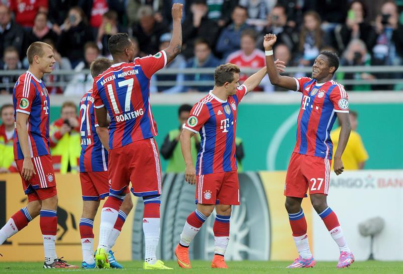 9dc58830e9 Bayern de Munique vence time da 3ª divisão e avança na Copa da ...