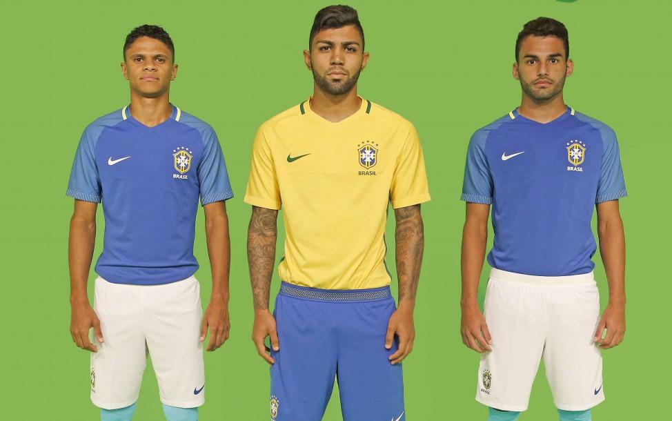 36e58261e1b6c Novos uniformes da Seleção Brasileira mantêm colorações tradicionais