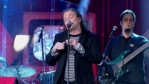 """Rock'n'roll real"", diz Cleo sobre Fábio Jr"