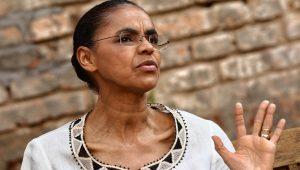 Marina Silva admite a possibilidade de fusão da Rede com o PPS de Roberto Freire