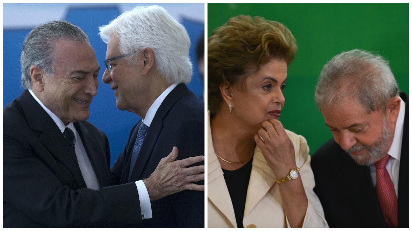 Montagem/Agência Brasil e EFE