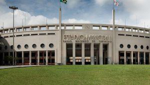 Museu do Futebol, no Pacaembu, transmite os jogos da Copa do Mundo