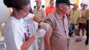 Rio de Janeiro não atinge meta de vacinação contra a gripe