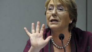 Michelle Bachelet lamenta que Brasil 'tenha líder como Bolsonaro'