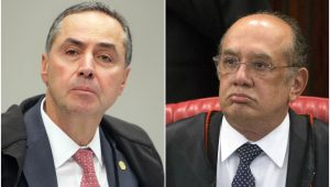 """Barroso diz que Mendes """"desmoraliza o Tribunal"""" e sessão é suspensa"""