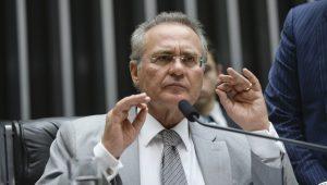 Reeleito, Renan Calheiros diz que não cogita se candidatar à presidência do Senado