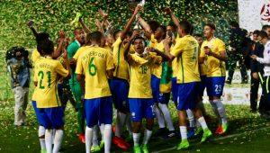 Seleção sub-17 terá jogadores de Palmeiras, Corinthians e SPFC em Mundial