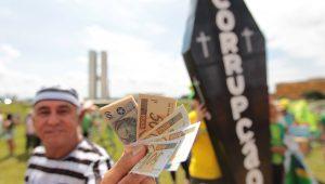 A corrupção é a grande tragédia brasileira e fomenta a violência