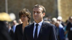 Se Europa for atacada em guerra comercial, reagiremos sem fraqueza, diz Macron