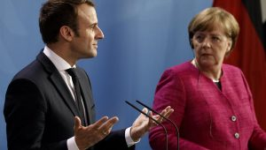 Merkel e Macron se manifestam sobre renúncia de Theresa May