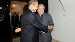 Por 2018, Renan faz aliança com Lula