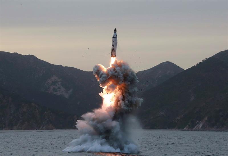 """Coreia do Norte diz que bloqueio marítimo seria uma """"declaração de guerra"""""""