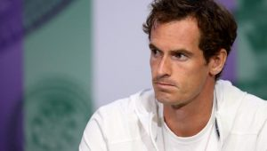 Andy Murray chora ao falar de dores e anuncia despedida das quadras
