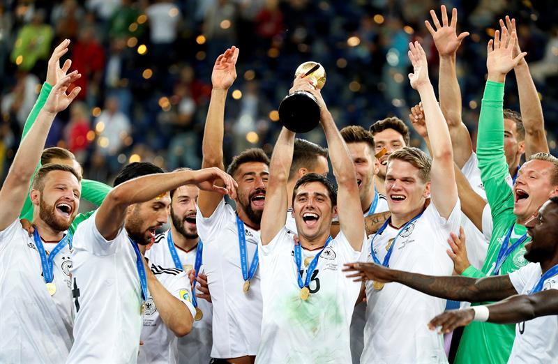 cc5ecb475ddf0 Seleção alemã conquistou o título da Copa das Confederações pela primeira  vez