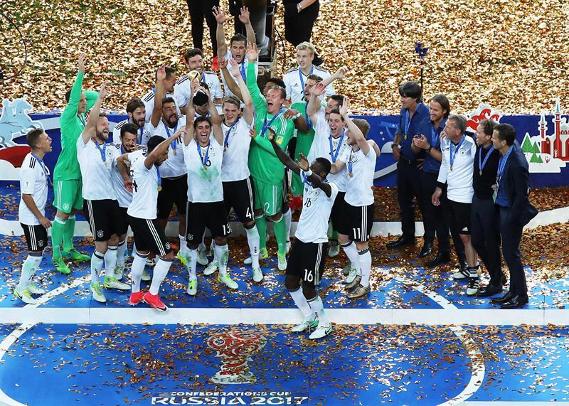 35f6f4110c23b Alemanha conquistou o título da Copa das Confederações pela primeira vez