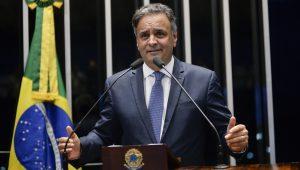 """""""Minha candidatura será decidida em Minas Gerais"""", diz Aécio"""
