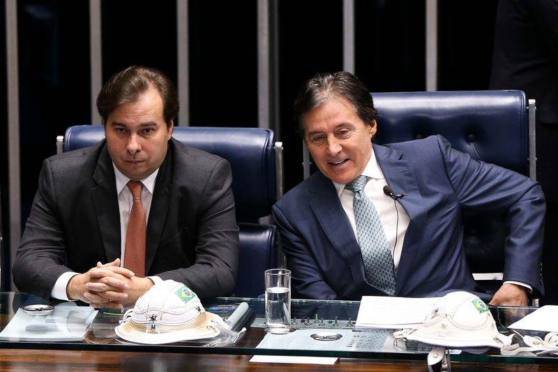 Resultado de imagem para Rodrigo Maia e Eunício