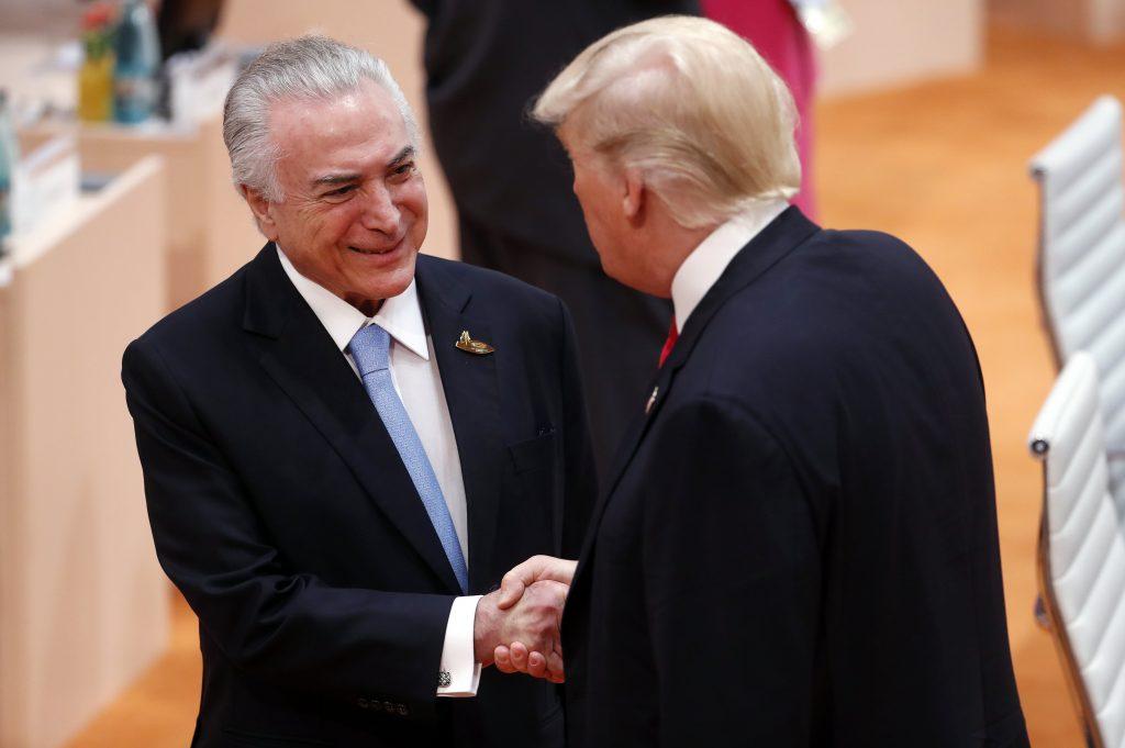 """Trump sondou Temer sobre """"solução militar"""" na Venezuela"""