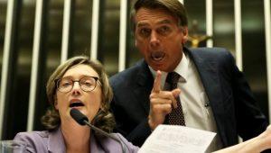 Bolsonaro tem 15 dias para pagar R$ 10 mil para Maria do Rosário