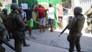 Ocupação do Exército na Favela da Rocinha, no Rio de Janeiro