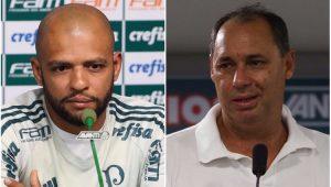 Futebol Palmeiras Felipe Melo Evair