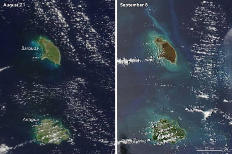 Reprodução/NASA Earth Observatory