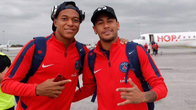 Neymar toma lavada de Mbappé em enquete sobre preferência da torcida do Barcelona